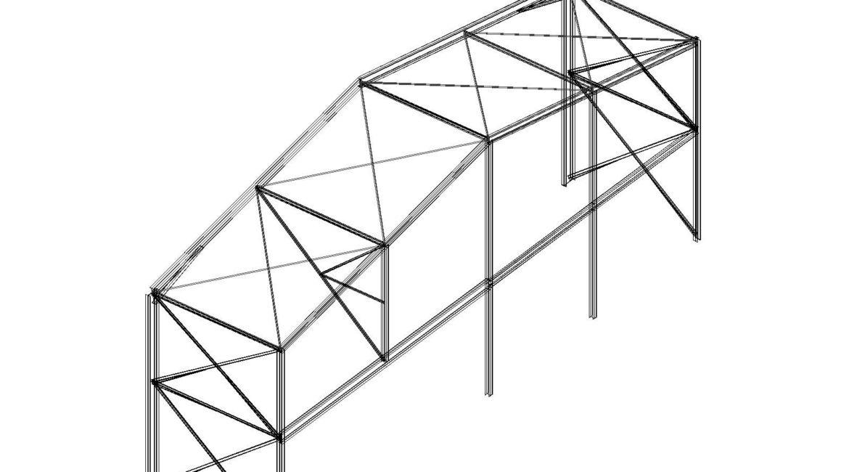Ampliación de puerta de Nave Industrial.